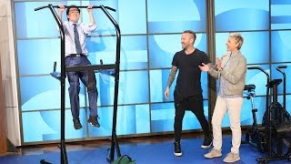 Bob Harper Reveals How Ellen Stays Fit