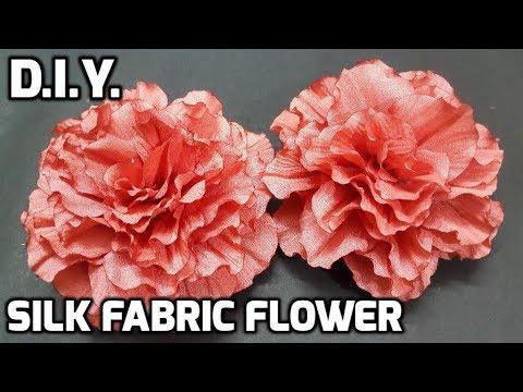 D.I.Y. Silk Fabric Flower   MyInDulzens