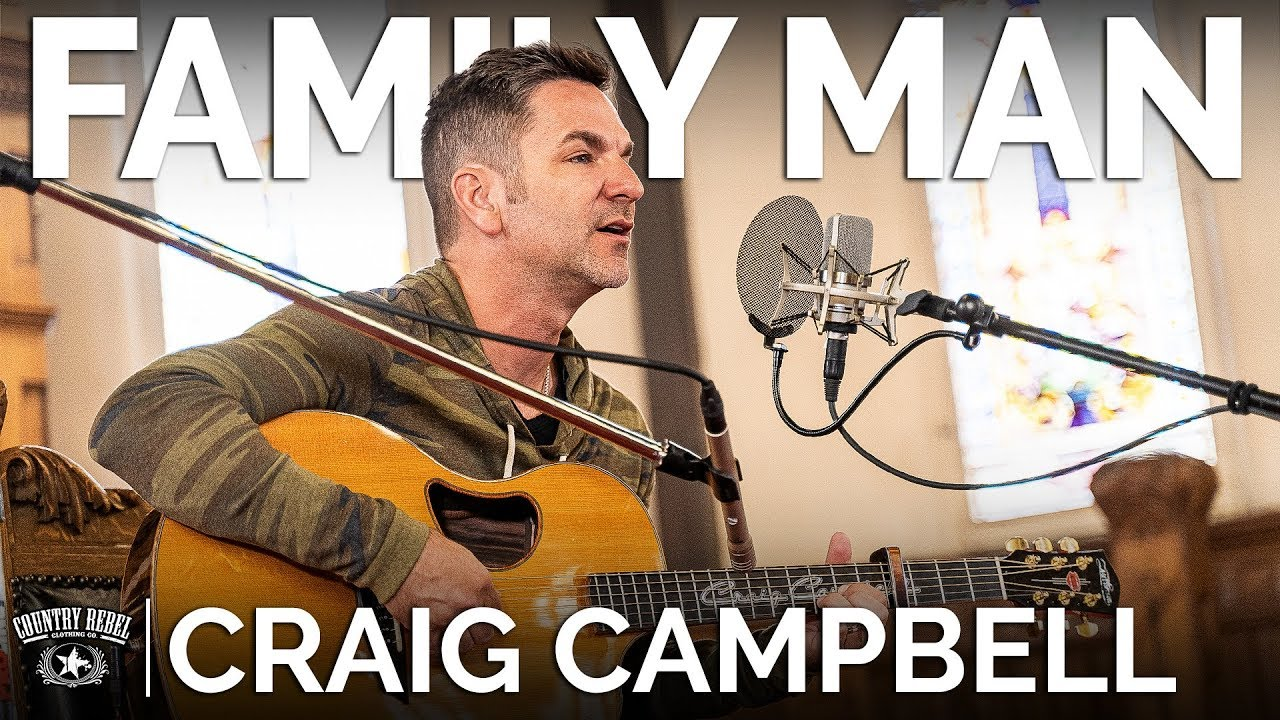 Craig Campbell — Family Man (Acoustic) // The Church Sessions