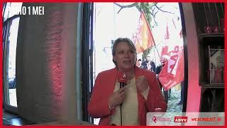 Radio 1 mei Miranda Ulens en Otto Waterreus (FNV) over de Fight for 14