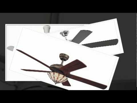 Der Deckenventilator Mit Ein Und Ausklappbaren Flugelblattern