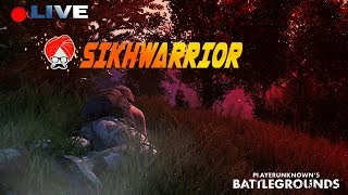 PUBG Games on RTX 2080Ti !  🔴 LIVE #Sikhwarrior