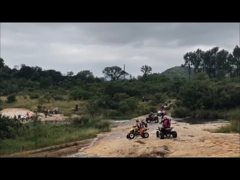 Swaziland trip  TRX450ER  kromdraai fooling around with video editor