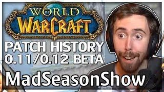 """Asmongold Reacts to """"WoW Patch History: Patch 0.11 & 0.12 Betas"""" by MadSeasonShow"""