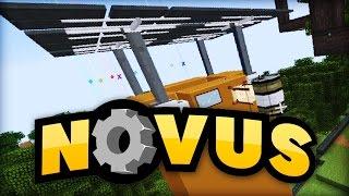 Mein erster SOLAR-TOWER! - Minecraft NOVUS #50