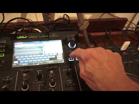 PIONEER XDJ-RX2 TOUCH SCREEN FEATURE HOW TO SEARCH FOR A TRACK