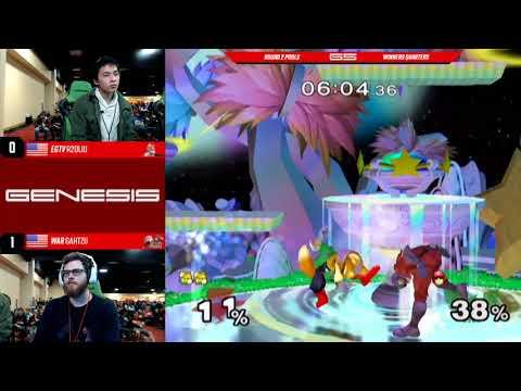 Genesis 5 Egtv Fat Goku Fox Vs Setchi Cfalcon Ssbm Round