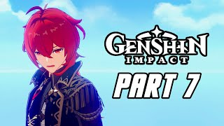 Genshin Impact - Gameplay Walkthrough Part 7 (Male, No Commentary, PS4 PRO)