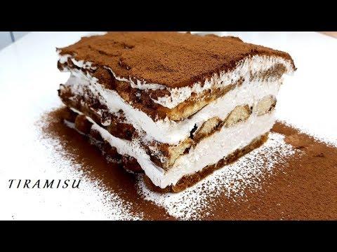 NAJBOLJI TIRAMISU KOLAC  GOTOV ZA 10 MINUTA/ NO BAKE/TIRAMISU CAKE