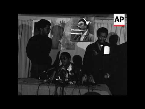 Stokely Carmichael warns of retaliation in the streets for murder of Dr. Martin Luther King