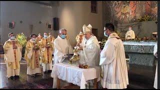 Solenne Messa Crismale 30 maggio 2020 chiesa San Francesco di Assisi Termoli