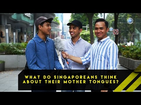 What Do Singaporeans Think About Their Mother Tongues? | Word On The Street | EP 14