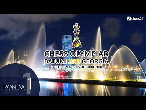 Olimpiada de ajedrez 2018 desde Batumi (1)