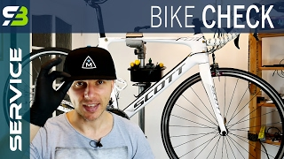 Road Bike Check In 15 STEPS. Tutorial For Beginners And Advanced Cyclists.