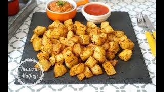 Fırında Baharatlı Küp Patates Tarifi