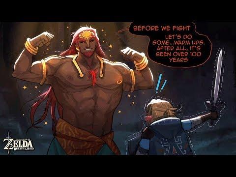 Botw Rehydrated Ganondorf Au Comic Dub Trial Of Hearts