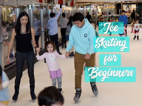 HOLIDAY ICE SKATING FOR BEGINNERS!!