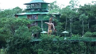 ARIAU AMAZON TOWERS, Brazil.  Единственный отель в джунглях Амазонки(Онлайн путешествие по Амазонке. Уникальный комплекс Agencia Ariau расположен на правом берегу реки Риу-Негро...., 2015-06-16T04:24:32.000Z)