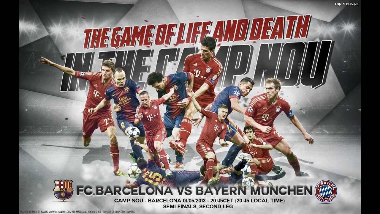 FC BAYERN MUNICH VS. FC BARCELONA • SEMI FINALS 2015 • HD ...