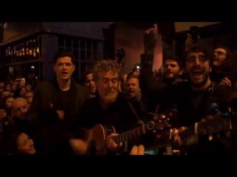 Christmas Busk 2015 • Glen Hansard, Bono, Hozier, Imelda May