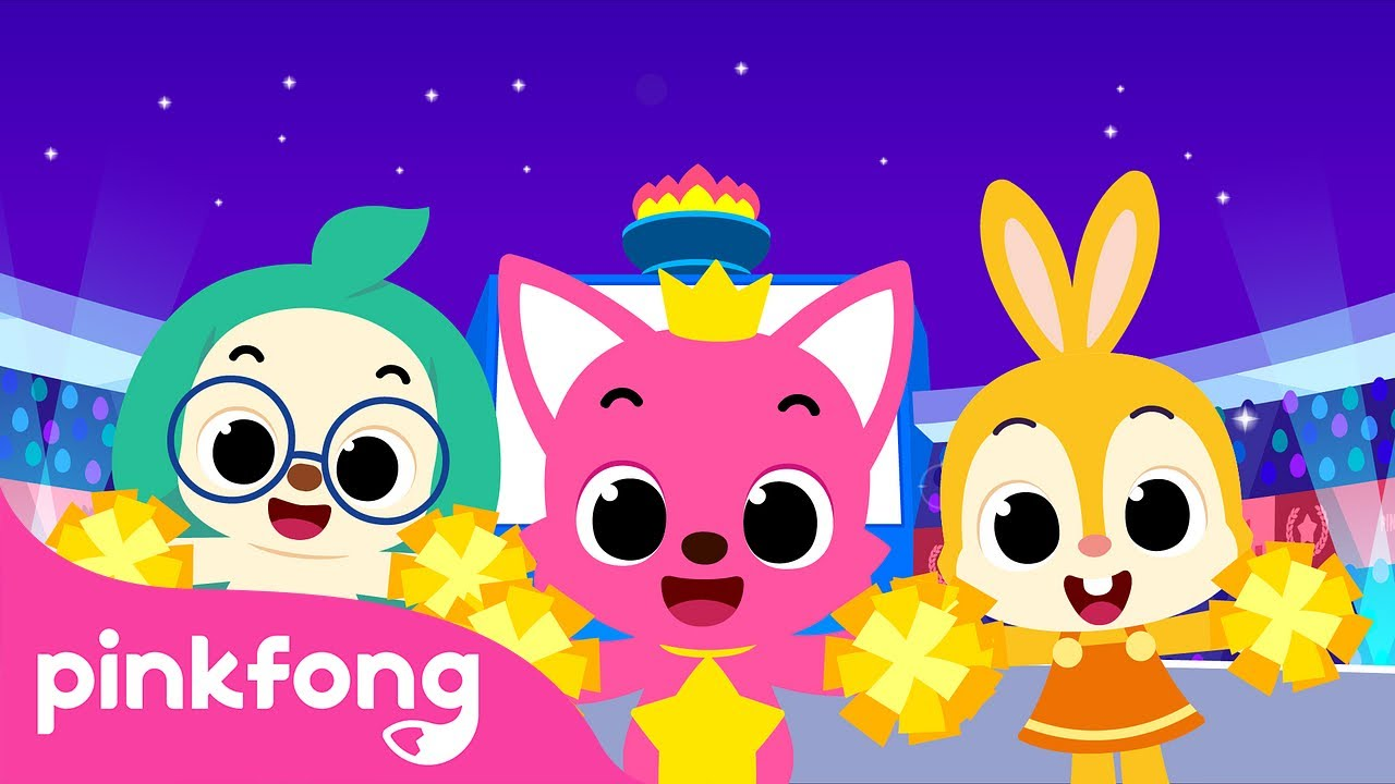 Cheer with Pinkfong | We Want Victory! | Sports Songs | Pinkfong Songs for Children
