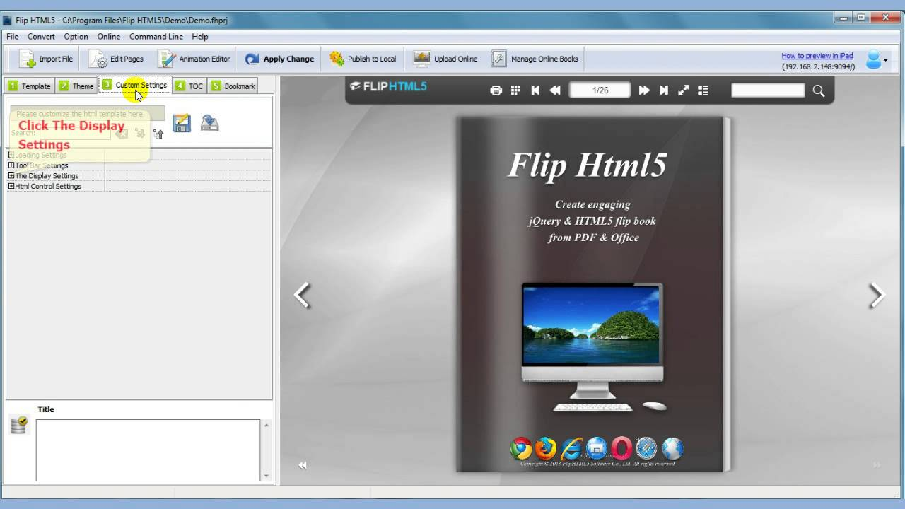 top free online tool to make interactive html5 flip book from pdf