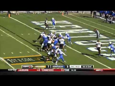11/09/2013 Missouri vs Kentucky Football Highlights - YouTube