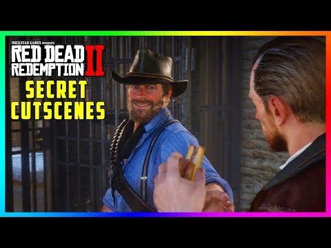 Red Dead Redemption 2 SECRET Cutscenes - Hidden Jailbreak Encounter With The Gang! (SECRET Outcome) thumbnail