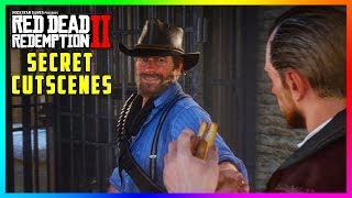 Red Dead Redemption 2 SECRET Cutscenes - Hidden Jailbreak Encounter With The Gang! (SECRET Outcome)