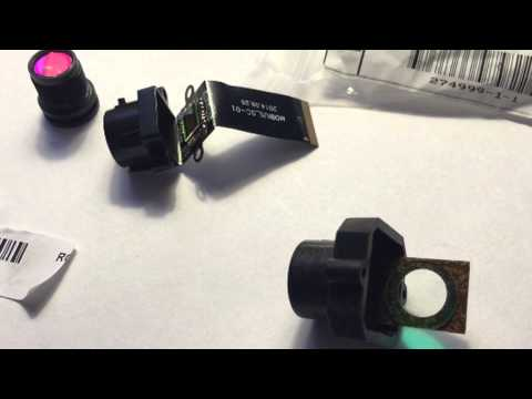 mounting IR cut filter in lens mount and results desktop