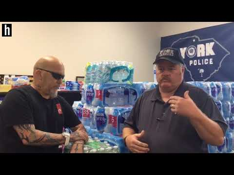 York Cops Tattoo Artist And Community Collect For Harvey Texas Flood Victims