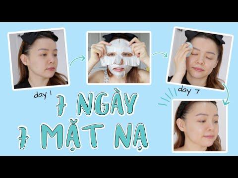 7 Ngày Skincare Chỉ Với Mặt Nạ Giấy Và Sự Thay Đổi Bất Ngờ🧏♀️ TrinhPham