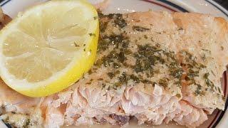 BAKED FISH WITH GARLIC AND DIJON MUSTARD