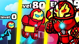 IS THIS THE STRONGEST HIGHEST LEVEL CYBORG EVOLUTION? (9999+ ARMY STICKMAN LEVEL) l Hero Wars New