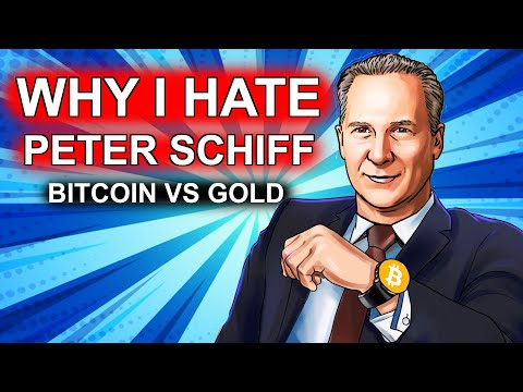 Why I Hate Peter Schiff | Bitcoin Vs Gold 2021