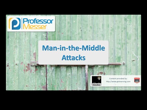 Man-in-the-Middle Attacks - CompTIA Security+ SY0-401: 3.2