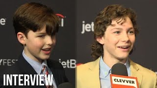 "Young Sheldon Cast Gets STUMPED Playing ""Who Said It: Young Sheldon Or Old Sheldon"" (2018 PaleyFest)"