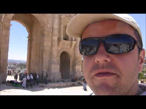 A Tourist's Guide to Amman and Jaresh, Kingdom of Jordan