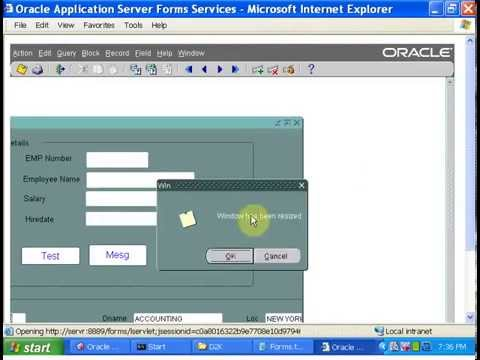 Oracle Apps Tutorial-2:oracle apps-Oracle Form Triggers Development Video  tutorial