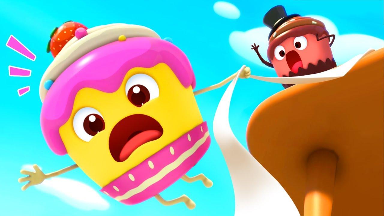 مغامرة الكعك | اغاني الاطفال | اغاني الاطعمة اللذيذة | فيديو مضحك | بيبي باص | BabyBus Arabic