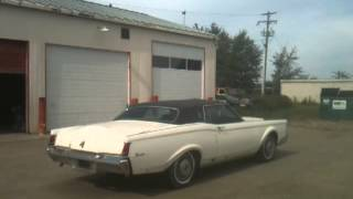 1970 Lincoln Continental Burnout