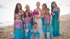 Hawaiian Wedding Bridesmaid Dresses