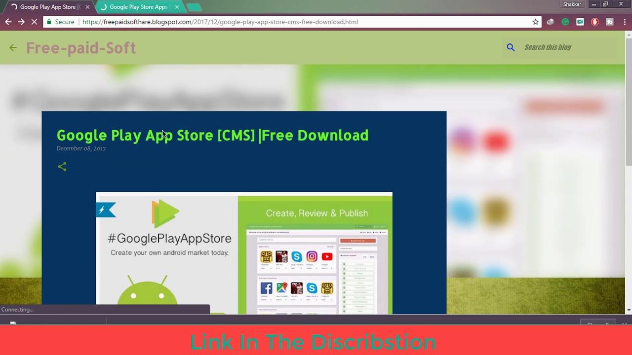 a50d233a38d Google Play App Store [CMS] Free   Google Play App Store CMS Free Download    Download Script Free