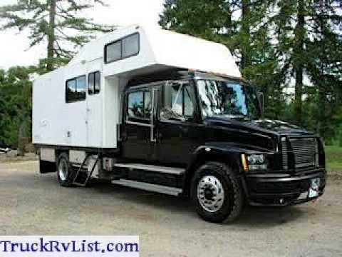 2001 Freightliner Fl70 Motorhome Camper Conversion For