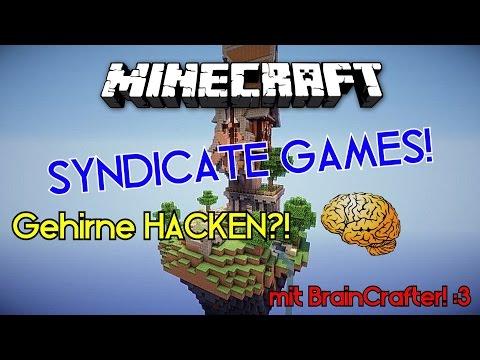 GEHIRNE KÖNNEN HACKEN?!   Minecraft   SyndicateGames   mit BrainCrafter!
