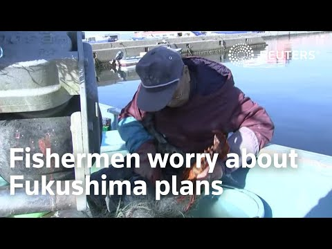 The fishermen watching Fukushima plans with worry