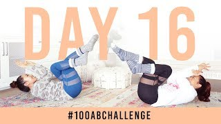 Day 16: 100 Eagle Abs! | #100AbChallenge w/ my sister