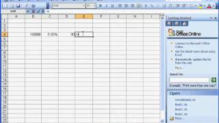 Excel Calculate Interest Only Monthly Mortgage Payment