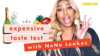 'RHOA' Star NeNe Leakes SPIT OUT This Cheap Food on Camera | Expensive Taste Test | Cosmopolitan
