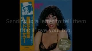 Donna Summer - On the Radio (12 Single) LYRICS SHM Bad Girls Deluxe 1979